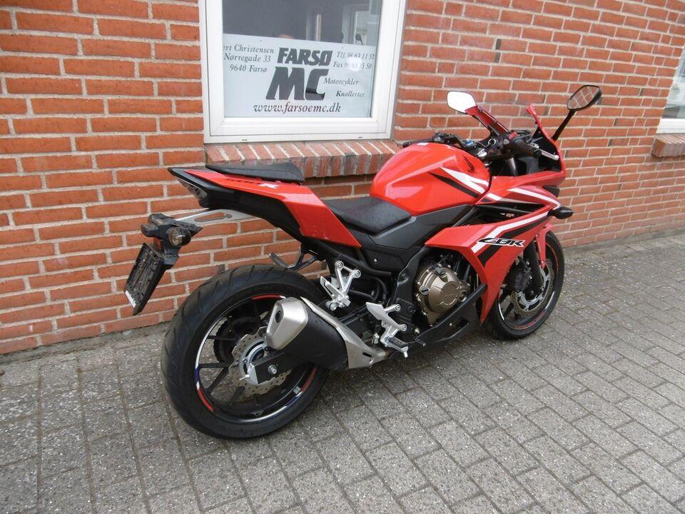 Honda, cbr500r, ccm 500