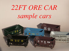 RCR - MDC 22ft ORE CAR -  CANADIAN NATIONAL - CN 114144