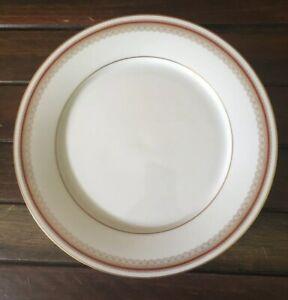 Noritake DORAL MAROON 2992 Dinner Plate