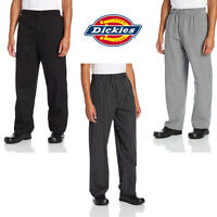 Dickies Chef Zipper Fly Baggy Pants, Chef Uniform, Cook, Culinary Apparel Dc224