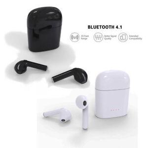 930c120f9565b6 2Pcs HBQ i7 For Pods Mini Wireless Bluetooth Headset in-Ear + ...