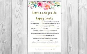 photo relating to Bridal Shower Mad Libs Printable referred to as Facts in excess of Printable Nuts Libs for Wedding ceremony / Bridal Shower / Kitchen area tea / Engagement/ Hens