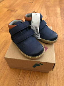 NEXT Baby Boys Navy Blue Leather Boots