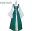 Frauen Vintage Mittelalter Renaissance Kleid Cosplay Kostüme Prinzessin Gothic A