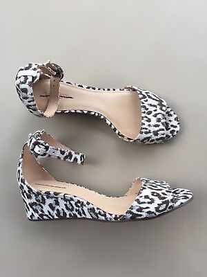 7b5bd35dd54 New J Crew Laila Leopard Wedges size 9.5 E6958 Wedge Sandals $158 91/2 |  eBay