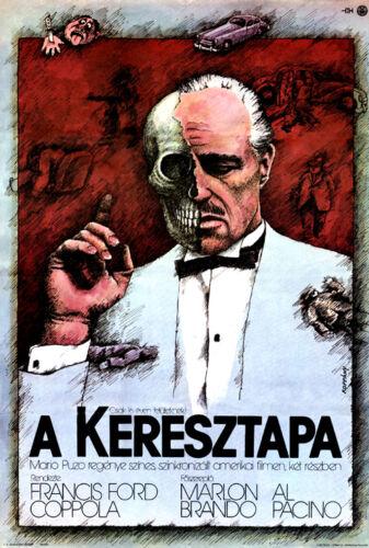The Godfather Marlon Brando Al Pacino movie poster print 33