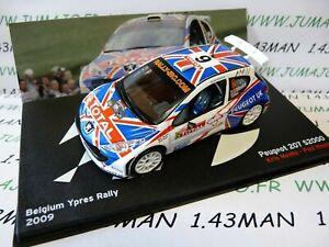 voiture-1-43-IXO-Altaya-Rallye-Belgique-PEUGEOT-207-S2000-Ypres-2009-Meeke