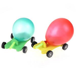 Children-Science-Educational-Balloon-Power-Car-Model-Handmade-Diy-Toy-TSAU-J-Yg