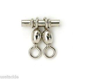 CUSTOM OFFSHORE TACKLE Brass Three Way Swivels 3-Way Size 1//0-10PK