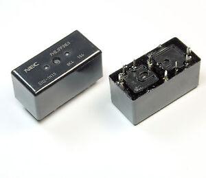 """12V Miniaturschaltrelais 2 Stück Relais NEC /""""EA2-12/"""" M3910"""