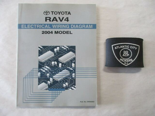 2004 Toyota Rav4 Electrical Wiring Diagram Service Manual