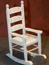 Dollhouse Miniature Rocker Rocking Chair 1:12 inch scale Y9 Dollys Gallery