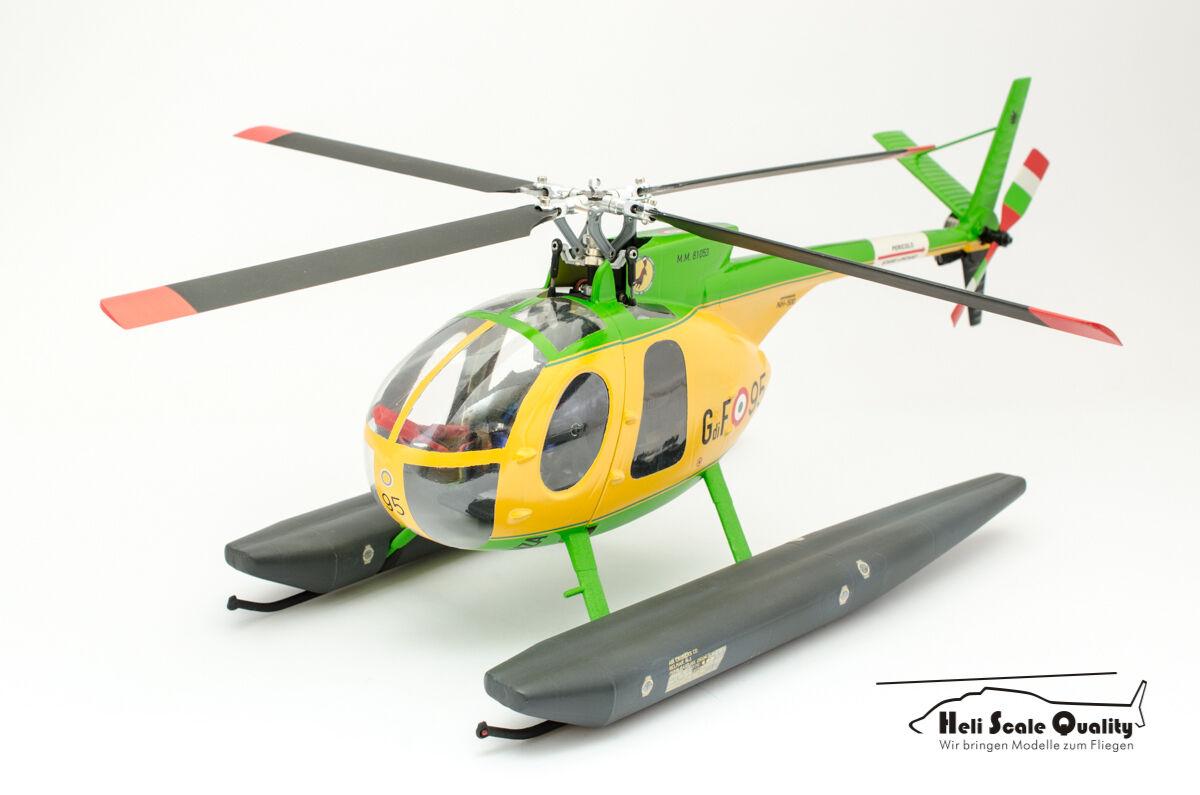 Casco-kit Hughes oh-6a 1 18 para Blade 200s 200srx, entre otros,
