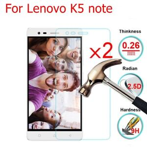 Details about Anti-scratch Clear Tempered Glass Screen Protector Hardness  For Lenovo K5 note