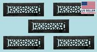 5 Heat Air Grille Cast Victorian Overall 3 1/2 X 12 | Renovator's Supply on sale