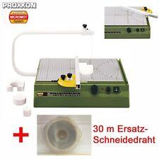 PROXXON Styroporschneider Styropor Heißdraht Schneidegerät THERMOCUT 230 /E Set