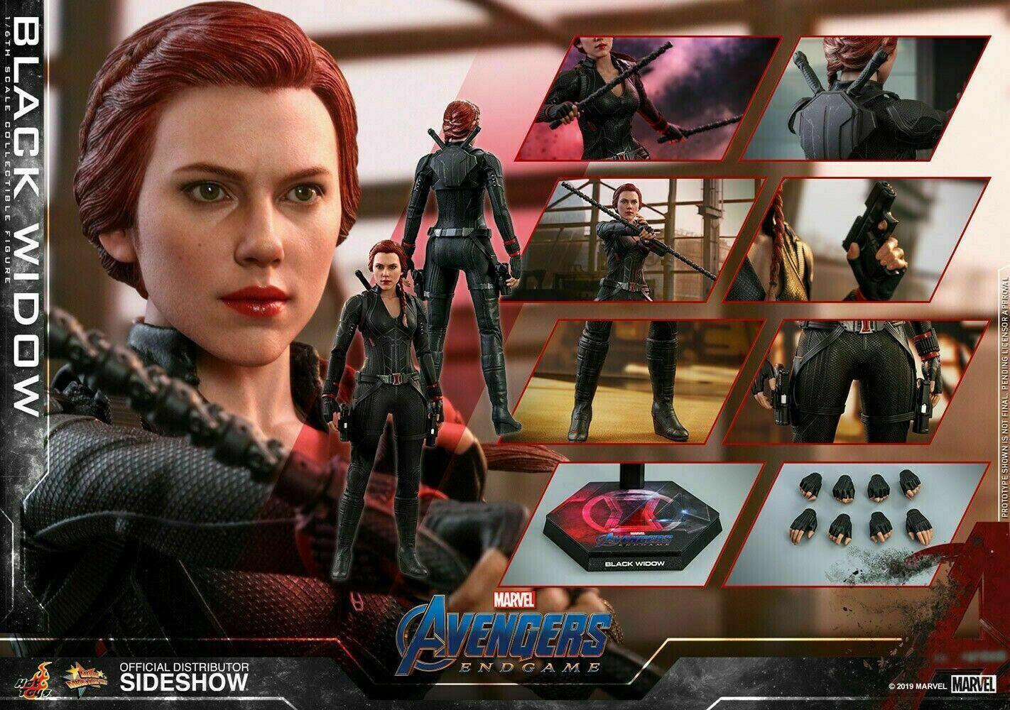 Hot Toys Marvel Avengers Endgame BLACK WIDOW 1/6th Figure (MMS533)  on eBay thumbnail