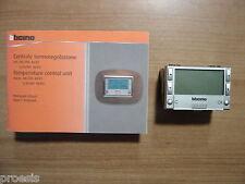 BTICINO NT4695 centrale termoregolazione My Home SCS Light Tech Silver domotica