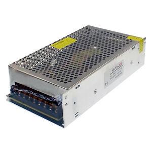 12V DC 200W Regulated Universal Driver Switch Power Supply Transformer LED CCTV