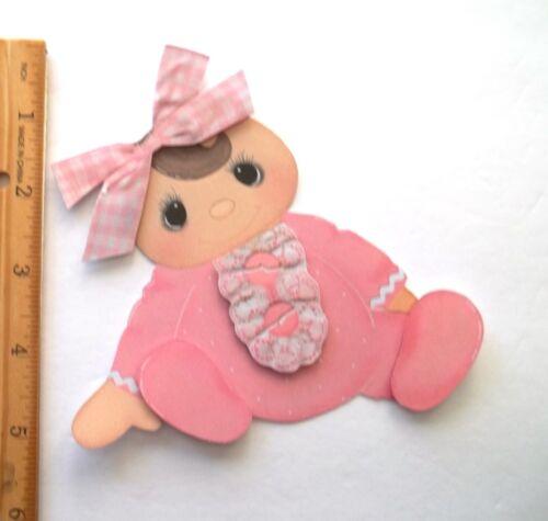 3D U Pick New05 Bear Unicorn Birthday Baby Puppy Card Scrapbook Embellishment