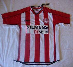 3b82d8d7b Image is loading Umbro-Olympiacos-Olympiakos-2002-2003-football-shirt-soccer -