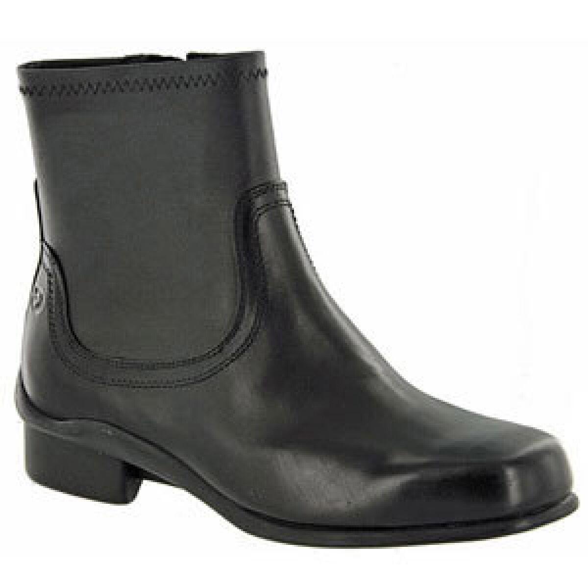 Aravon Erin WOE06BK Black Ankle Boots 6.5 B