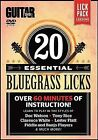20 Essential Bluegrass Licks by Alfred Publishing Co., Inc. (DVD Audio, 2012)