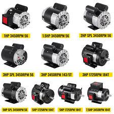 Vevor Air Compressor Electric Motor 17253450rpm Single Phase For Air Compressor