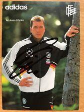 Andreas Köpke AK DFB 1994 Autogrammkarte original signiert