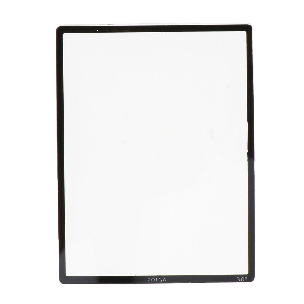 8H Tempered Glass Screen Shield Protector Film Suitable for 3.0 inch Screen