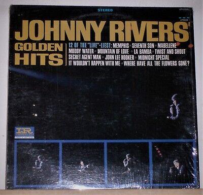 JOHNNY RIVERS - Golden Hits - LP Record Album - Secret Agent Man - Seventh  Son | eBay