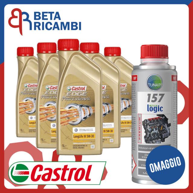 Olio motore Castrol Edge Professional 5w30 5 Litri FST + Tunap 157 OMAGGIO