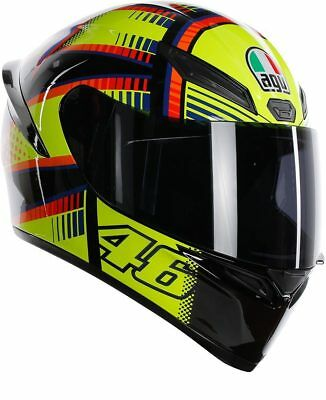 AGV K-1 Rossi VR46 Soleluna casco integrale pista giallo fluo