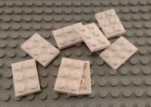 New LEGO Lot of 8 White 2x3 Plate Pieces