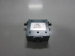 Narda-4913-SMA-ISOLATOR-2GHz-4GHz
