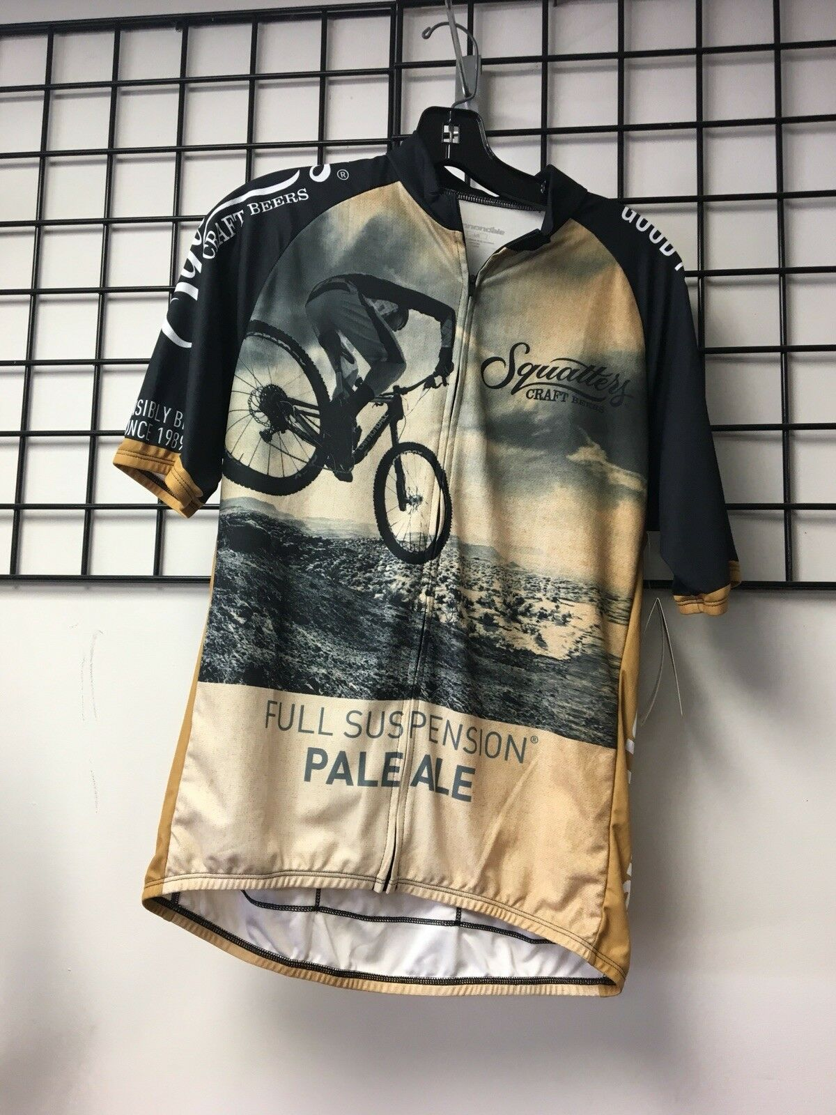 Cannondale Squatters Brewery Pale Ale  jersey  guaranteed