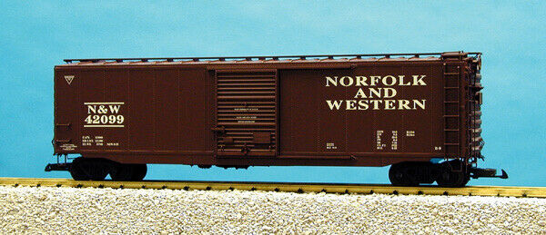 USA Trains G Scale 50 Ft Single Door Box Car R19316A Norfolk & Western - Tuscan