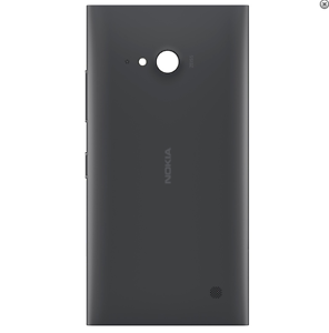 Coque-Arriere-Nokia-Lumia-730-735-Couleur-Noir-Dispo-france