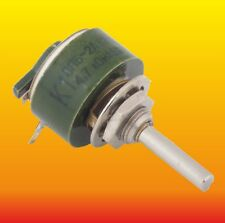 4.7 kOhm 2 W LOT OF 2 WIREWOUND POTENTIOMETER VARIABLE TRIMMER RESISTOR PPB-2A