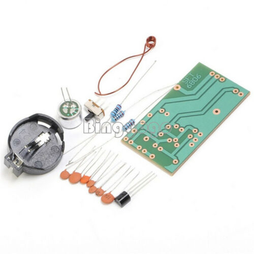 DIY Kit FM Frequency Modulation Wireless Microphone Module For Teaching Suite