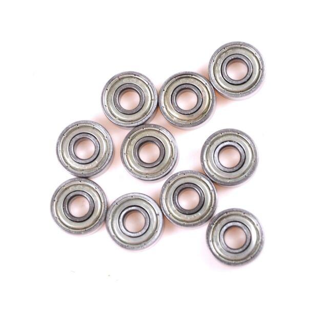 10Pc 624ZZ 4mmx13mmx5mm 624Z Radial Ball Bearings 3D Printer Toys AU