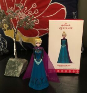 Disney-Hallmark-Keepsake-Ornament-FROZEN-ELSA-CORONATION-DAY-Christmas-Tree-NEW