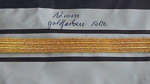 Tresse-Luftfahrt-Handelsmarine-goldfarben-fuer-Armel-12mm-breit-1meter-neu