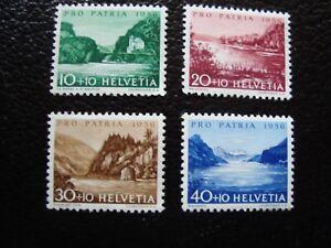 Switzerland-Stamp-Yvert-and-Tellier-N-577-A-580-Nsg-A1-Stamp-Switzerland