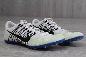 detailed look 1344c 0d38a 19 New Nike Zoom Victory 2 Track Spikes White  Blue Sizes 4.5-12.5 555365  100