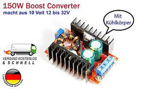 150W-10A-Step-up-boost-Power-Converter-fuer-Arduino-Raspberry-Pi-HIGH-Power-LEDs