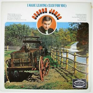 GEORGE-JONES-I-Made-Leaving-Easy-For-You-LP-1972-COUNTRY-NM-NM