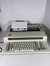 Vintage Ibm Personal Wheelwriter Electric Typewriter Tested Working Euc