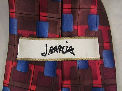 J Garcia Neck Tie Silk New York At Night Limited Edition J Garcia Estate 2005