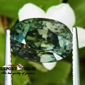 034-AIGS-CERTIFIED-UNHEATED-034-5-15CT-GREEN-OVAL-NATURAL-SAPPHIRE